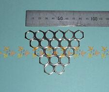 M12 x 0.75 fine pitch x 2mm spessore basso profilo Dado Dadi x 20 NUOVA IN ACCIAIO INOX
