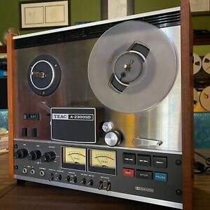 Teac A-2300SD Reel to Reel Tape Deck FULLY FUNCTIONAL