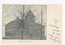 Angola NY High School UDB Early Antique PC Evans—Erie County 1906