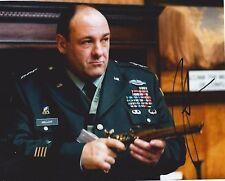 James Gandolfini signed 8x10 photo - In Person Proof - Tony Sopranos