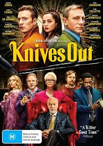 Knives Out (DVD), NEW SEALED AUSTRALIAN RELEASE REGION 4 lot 64