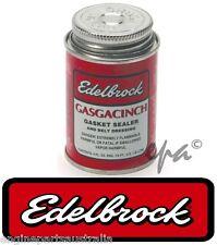 EDELBROCK GASGACINCH GASKET SEALER SUIT MANIFOLD SUMP ROCKER COVERS 118ML ED9300