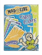 mad libs word card game new 2002