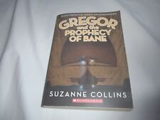 Gregor And The Prophecy of Bane Suzanne Collins Book 2 Underland Chronicles -RT