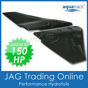 AQUATRACK PERFORMANCE HYDROFOIL - BOAT MOTOR STABILISER FOR 5-150HP OUTBOARD