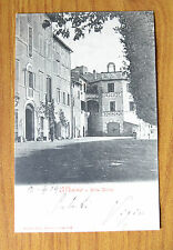 CARTOLINA ALBANO LAZIALE VILLA DORIA RARA VIAGGIATA 1904 SUBALPINA QQ