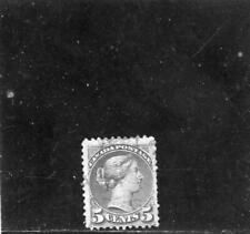 Canada  1873 Scott# 38a canceled