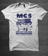 "MC5 'Kick Out The Jams"" t shirt punk rock n roll music stooges"