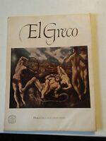 039 Vintage Abrams Art Book El Greco Full Color Prints