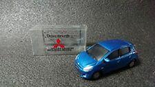 Mitsubishi MIRAGE Blue Metallic Model Car Red Not sold in store