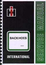 International Harvester Backhoes Service Manual