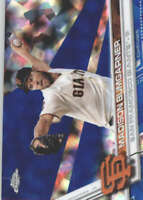 MADISON BUMGARNER 2017 TOPPS CHROME SAPPHIRE EDITION #65 ONLY 250 MADE