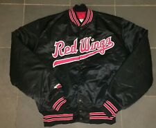 RARE SATIN DUGOUT JACKET MILB Rochester Red Wings ISSUED
