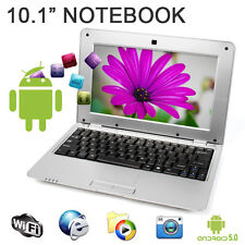 "New 10"" 1.5Ghz WIFI Android 5.0 Silver Mini PC Notebook Laptop Computer Netbook"