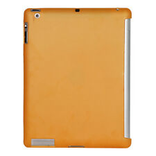 Ultra Slim Orange TPU Silicone Gel Rubber Back Case Support for Apple iPad 2 3 4