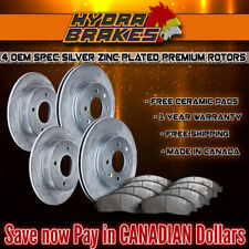 FITS 2003 2004 2005 MERCEDES C240 OE BLANK Brake Rotors CERAMIC SLV