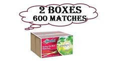 2 Pack Diamond Strike On Box Greenlight Matches 300 Count