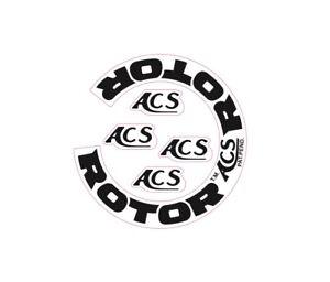 ACS ROTOR Decal (2nd Gen) Old School BMX 80's Gyro