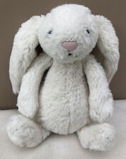 Jellycat Small Cream White Bashful Bunny Rabbit Soft Toy Comforter Baby Soother
