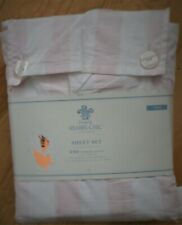 Simply Shabby Chic Pink Candy Stripe Sheets New Nwt Twin