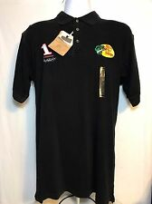 RedHead Bass Pro Shop Dale Earnhardt Inc Black Polo NWT Size Small Racing Sports