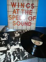 Paul McCartney & Wings At the Speed of Sound Capitol SW 11525 LP Record Album