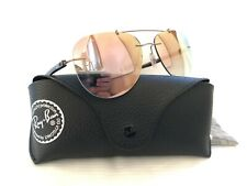 Ray Ban LightRay Pilot Sunglasses RB8059 Gold / Brown Frame Copper Mirror Lenses