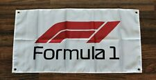 Formula One F1 Banner Flag 1.5' x 3' Automotive Car Racing Race Team Motorsport