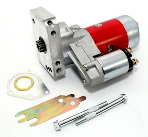 Red High Torque Mini Starter Small & Big Block Chevy 153 168 Tooth Compatible
