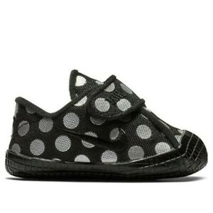 3C - Nike Waffle 1 Print Crib Style Shoes AR1689 001 (CBV)