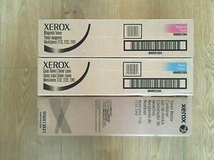 Xerox 7132 7232 7242 Cyan Magenta and Waste toner - Original Genuine