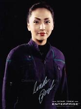 LINDA PARK  Hoshi Sato - Star Trek: Enterprise GENUINE AUTOGRAPH UACC (Ref:8396)