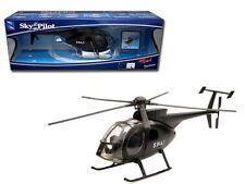 NEWRAY 1:32 SKY PILOT S.W.A.T. AGUSTA WESTLAND NH-500 Die-Cast Helicopters Black