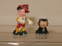 MARX Disneykins Pinocchio and Figaro Miniature Figure