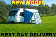 New 2018 Sunncamp Dash 260 Air Blue Caravan Porch Awning With Rear Upright Pads