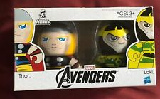 MARVEL AVENGERS Thor Loki Mini Mighty Muggs Figures 2 Pack New Sealed! Like POP