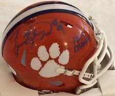 Travis Etienne Autographed Clemson Tigers Mini Helmet JSA COA Authentic