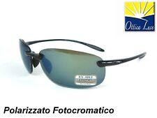 SERENGETI NUVINO 8270 SHINY BLACK POLARIZZATO PESCA Sunglass Occhiali Sole