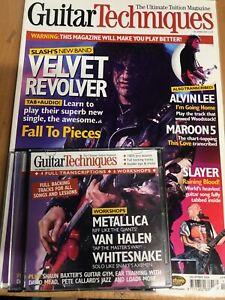 Guitar Techniques magazine & CD: December 2004
