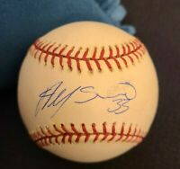 ALFONSO SORIANO SIGNED OFFICIAL MLB BASEBALL NY YANKEES ROOKIE SIG W/COA+PROOF