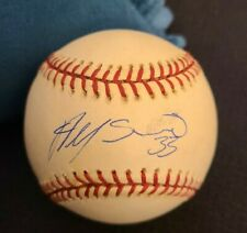 ALFONSO SORIANO SIGNED OFFICIAL MLB BASEBALL NY YANKEES ROOKIE SIG W/COA+PROOF