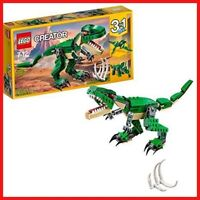 LEGO 31058 Creator 3-in-1 Mighty Dinosaurs Building Set, Fun Construction Toy