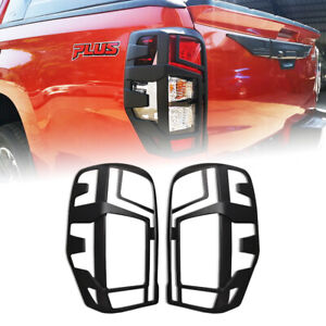 FIT MITSUBISHI TRITON L200 MR 2019-20 COVER REAR TAIL LIGHT TRIM MATTE BLACK