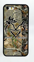 PERSONALIZED CUSTOM CAMO BUCK AND DOE PHONE CASE FOR IPHONE 7 6S 6 PLUS 5C 5S 4