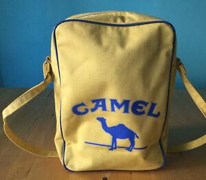 Alte Camel Zigaretten Tasche Reklame Werbung Vintage Retro