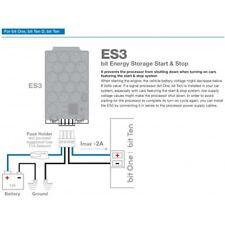 Audison ES 3 VOLTAGE STABILISER for Vehicles with Start-Stop Function ES3