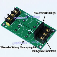 High-power Single Bridge 25A Rectifier Filter Power Supply Board For New