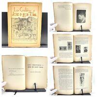 1936 Los Cristeros y Jose De Leon Toral, M. Elena Sodi De Pallares, Primera Ed.