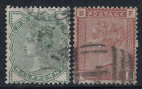 Großbritannien 1880 Mi. 55-56 Gestempelt 40% Queen Victoria