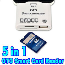 Camera Connection  SD TFCard Adapter Kit for Samsung S5 S4 Note 2 3,HTC1,Sony